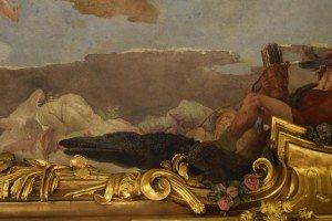36-allegoria dell'America: particolare dell'alligatore