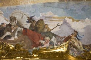 37-allegoria dell'Europa: unsoladato, un ragazzino con civetta (Minerva)
