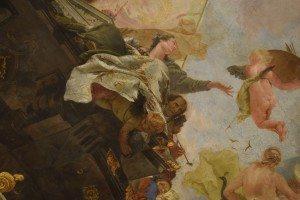 40-allegoria delle arti con il particolare del autoritratto del Tiepolo