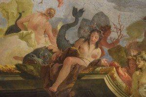 43-allegoria del mare: particolare con Teti la madre di Achille