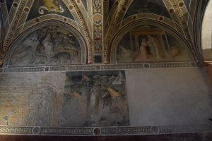 020-Ciclo di San Biagio, affrescato dal pittore torinese Giacomo Jaquerio (1375-1453)