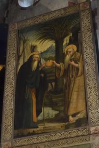 042-Sant'Antonio  abate che visita S. Paolo eremita