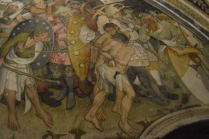 056-i due ladri crocifissi con Gesù