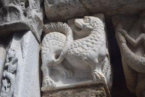 118-capitello con leone