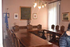094-Breme: sala del consiglio comunale