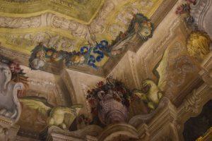 023- affreschi floreali