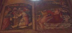 101-Giuda riceve i 30 denari-Gesù nell'orto degli ulivi