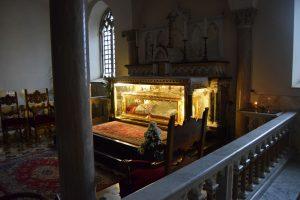 026-Cripta con il corpo del Santo vescovo Gianelli