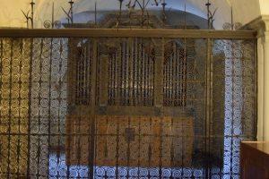 098-cancello in ferro battuto