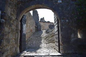 055-ingresso al castello di Drena