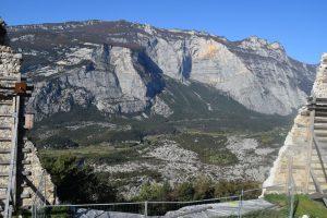 024-da lì si staccò la frana che cambiò l'aspetto della valle, ai tempo dei romani